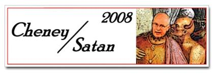 Cheney/Satan 2008