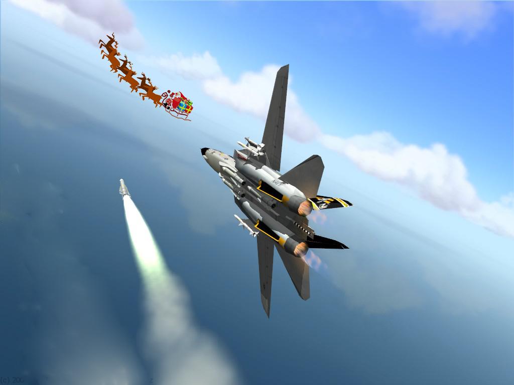 NORAD tracks Santa 2008 | Into the Void