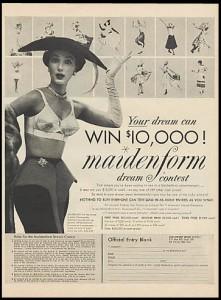 Maidenform BRA Matador 1955